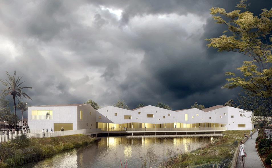 Passelac roques architectes for Jeune architecte