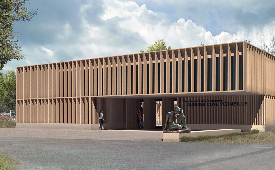 Passelac roques architectes for Architecte sanary sur mer